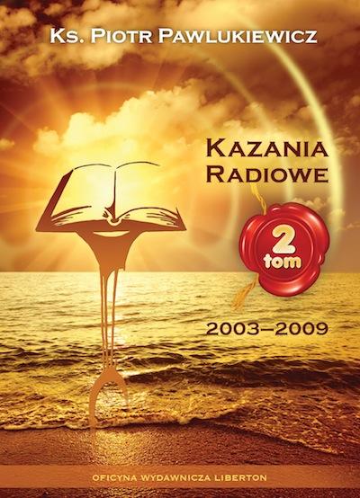 Kazania Radiowe - tom 2 - okładka